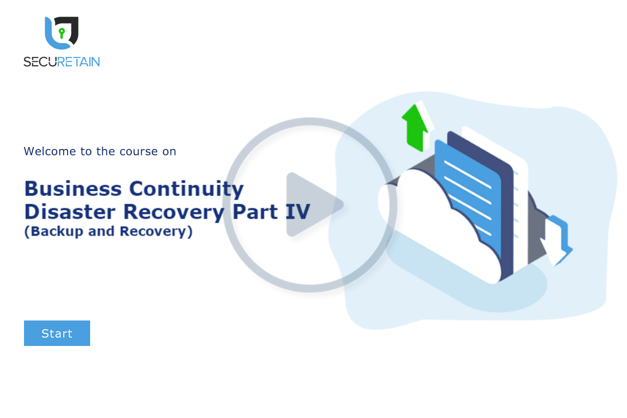Business Continuity & Disaster Recovery (BCP / DR) Part IV