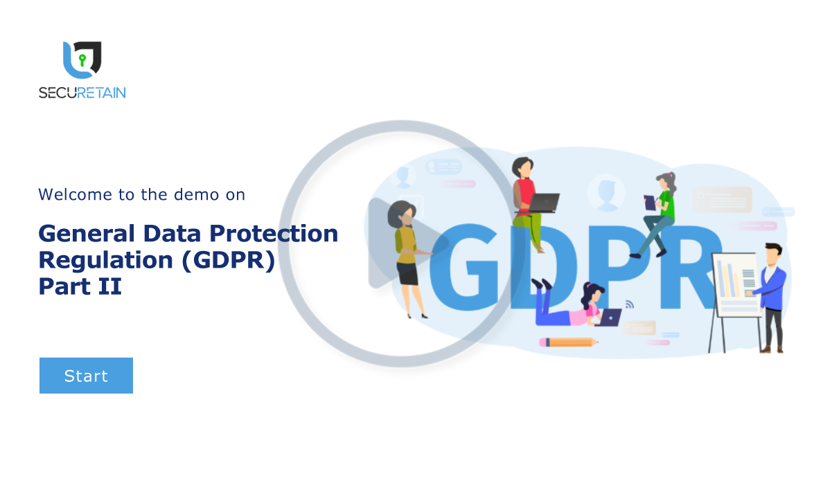 General Data Protection Regulation (GDPR) Part II