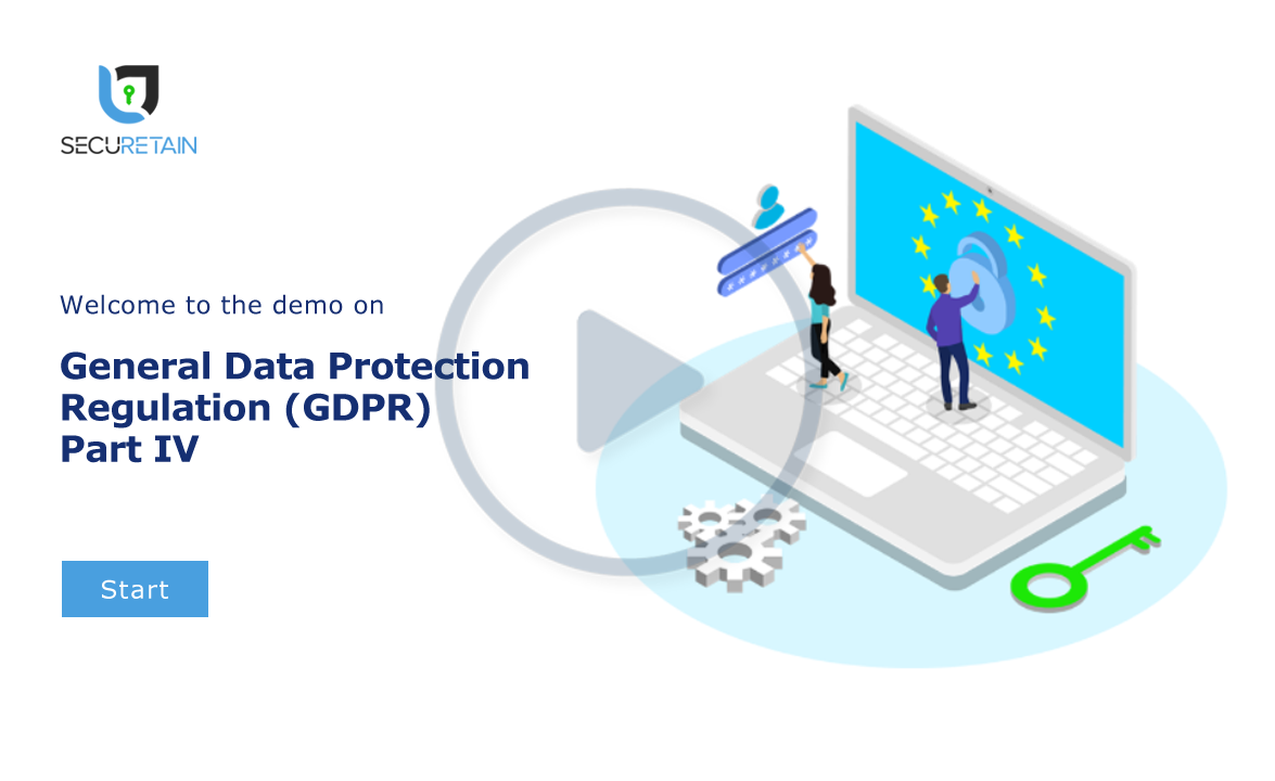 General Data Protection Regulation (GDPR) Part IV