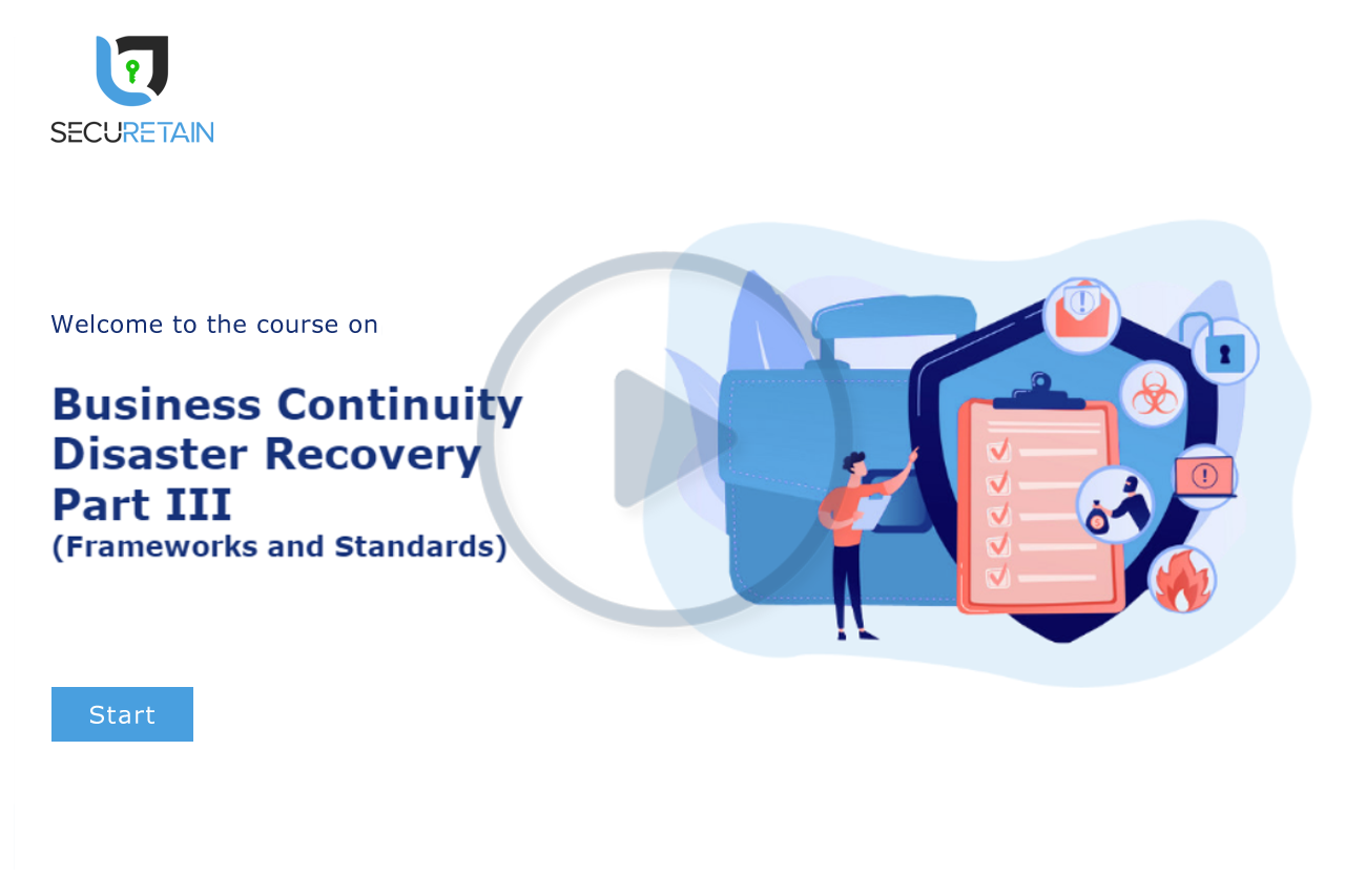 Business Continuity & Disaster Recovery (BCP / DR) Part III