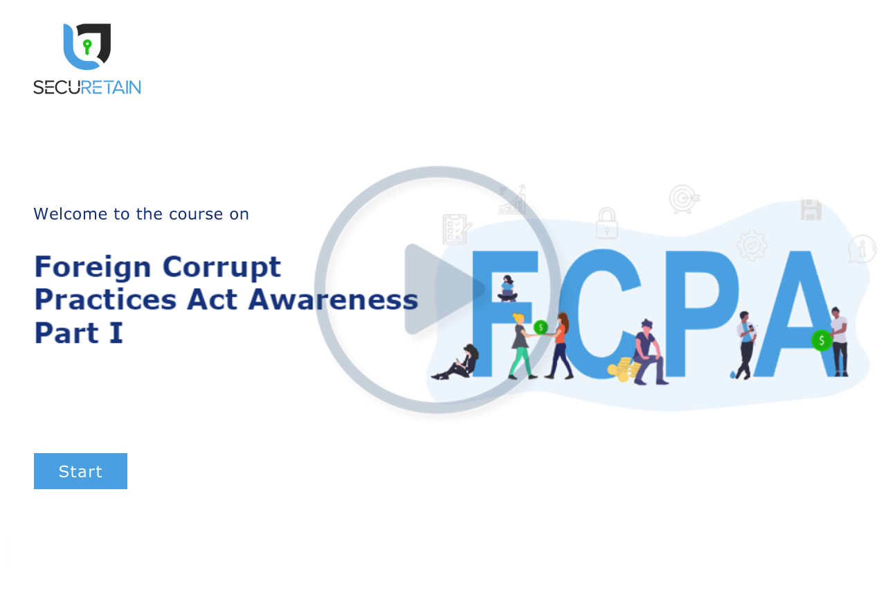 Foreign Corrupt Practices Act (FCPA) Part I - Awareness