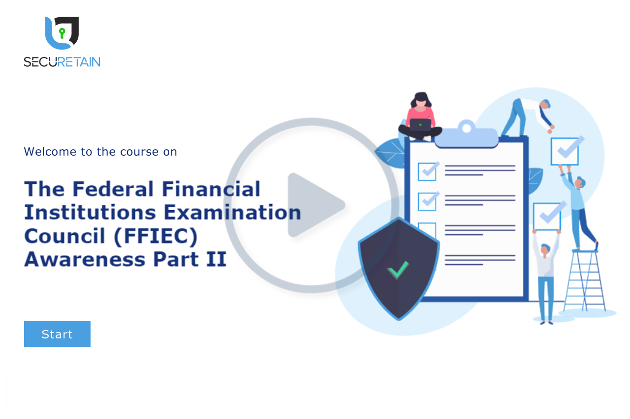 The Federal Financial Institutions Examination Council (FFIEC) Part II
